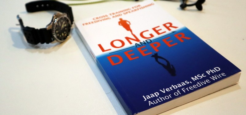 "Freediving book ""Longer and Deeper"""